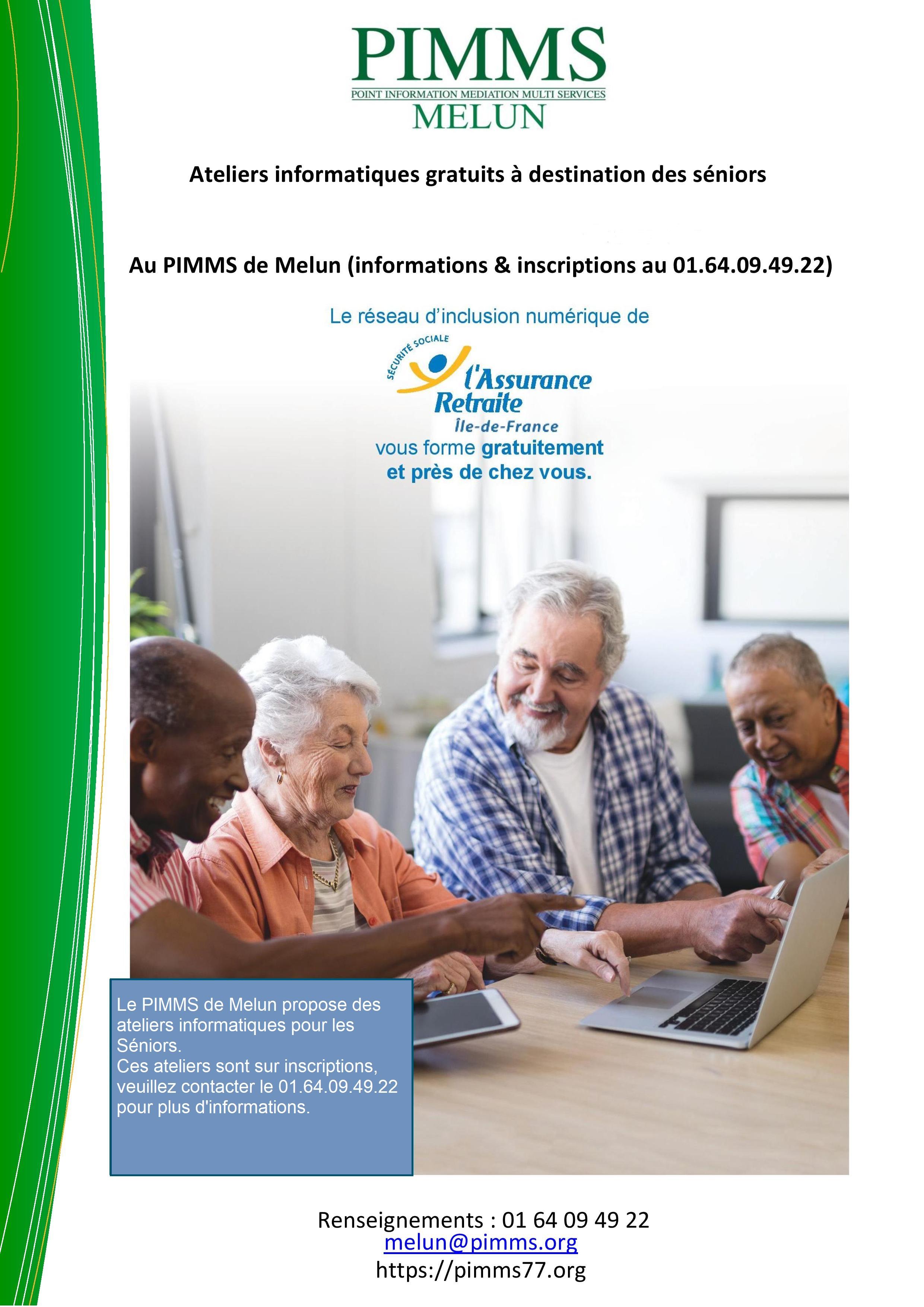 Bilan intermédiaire des ateliers seniors